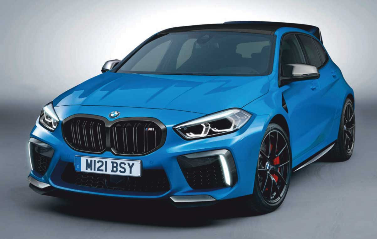 New 400bhp-plus BMW M2 Coupe, M2 Gran Coupe and M 1-Series