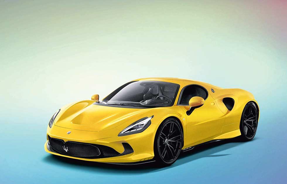 Maserati's new supercar