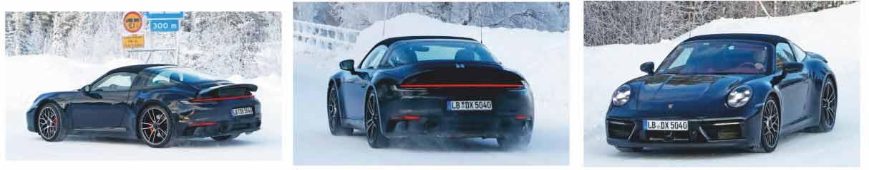 Porsche begins testing 2021 Porsche 911 Targa GTS 992