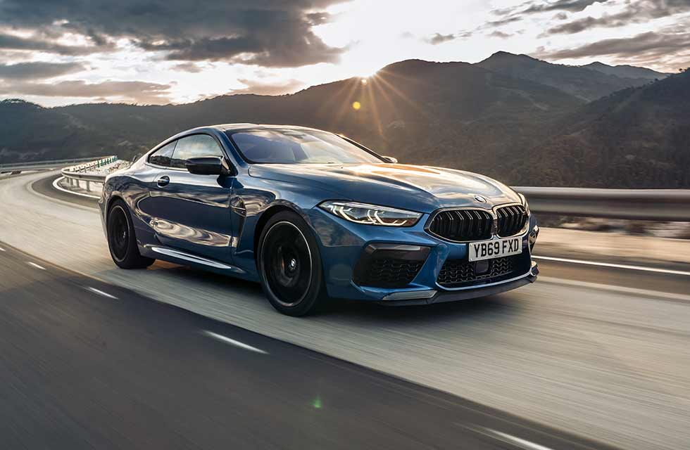 2021 BMW M8 Competition Coupé US-spec F92