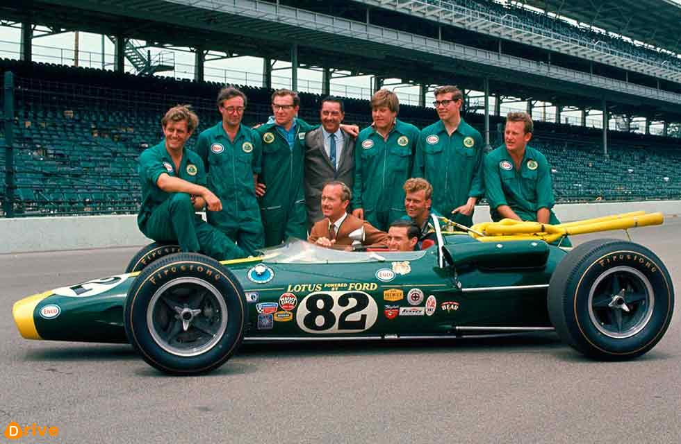 In this month: 31 May 1965 Lotus wins Indy 500