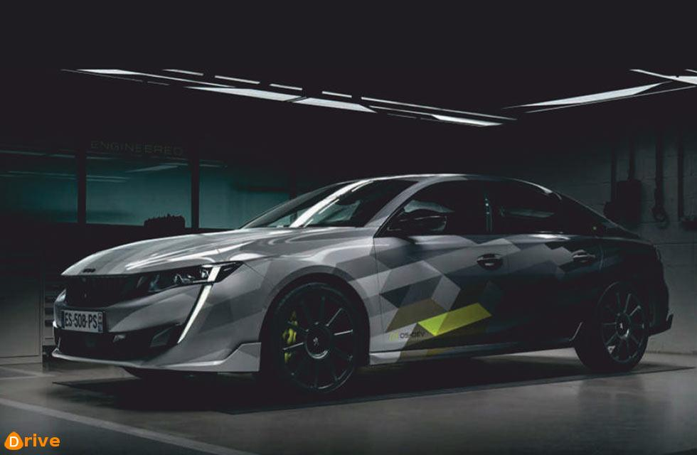 Angry fastback shows us the future of Peugeot Sport