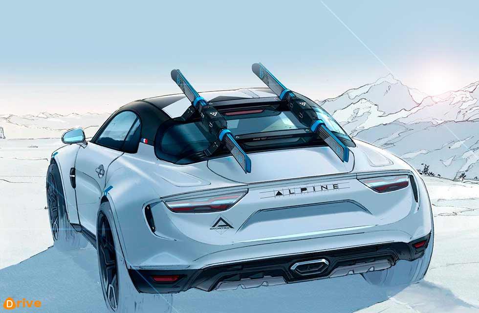Alpine A110 SportsX concept