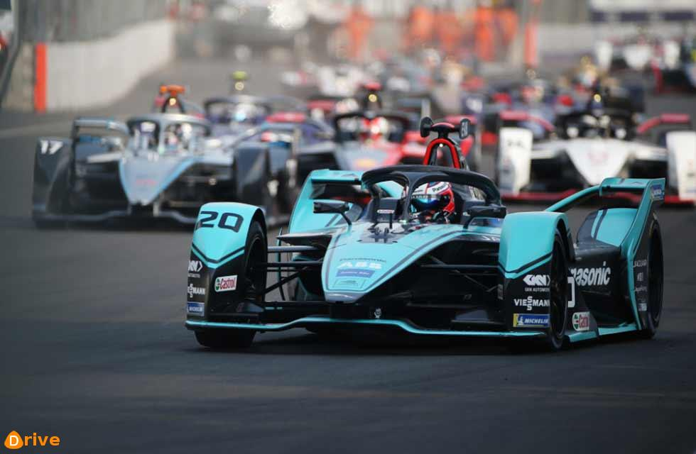 FIA Formula E Championship Evans wins his second E-Prix for Panasonic Jaguar Racing