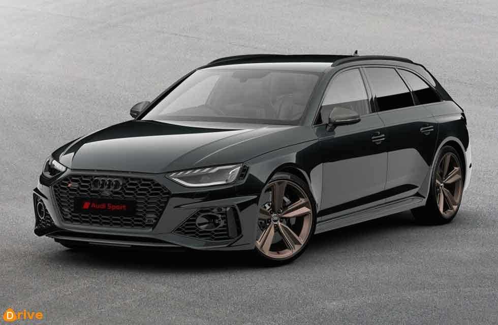 2021 Audi RS4 Avant Bronze Edition B9
