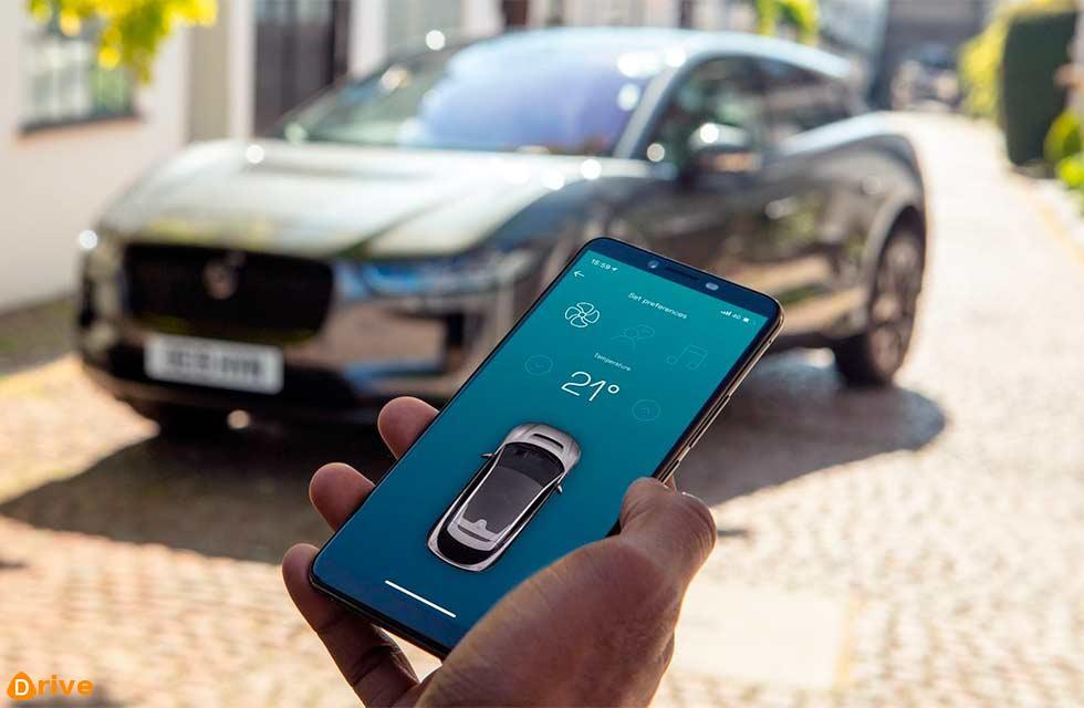 New all-electric taxi app uses fleet of Jaguar I-Paces
