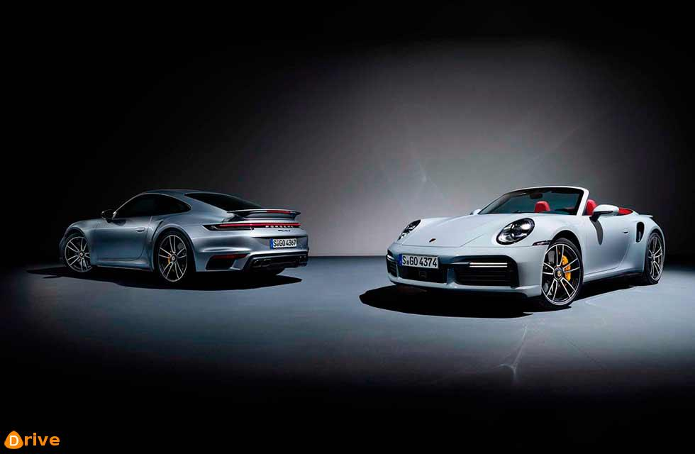 2021 Porsche 911 Turbo S Lightweight Package 992