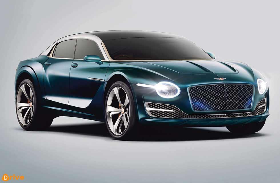 Bentley's first EV High-riding saloon due in 2025