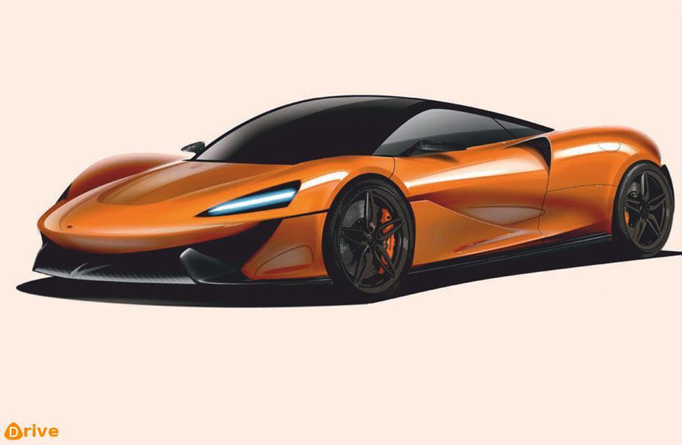 New baby McLaren