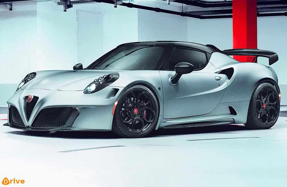 Pogea presents 410bhp Alfa-Romeo 4C