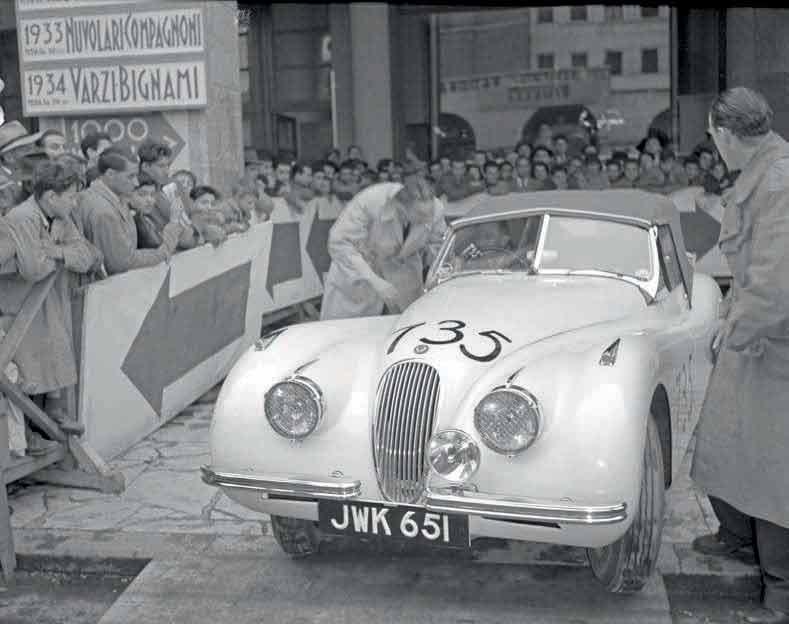 Jaguar's best Mille Miglia finish, 23 April 1950