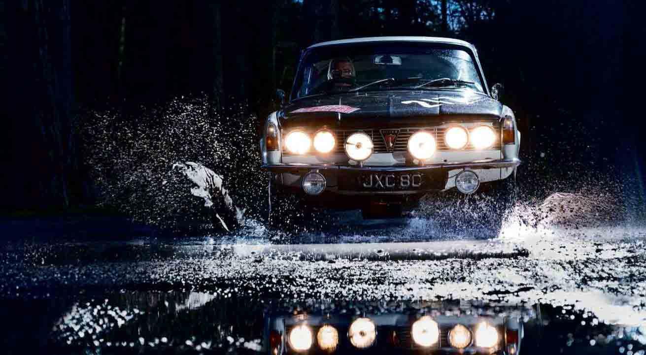 1965 Rover P6 2000 Works Rally Gar