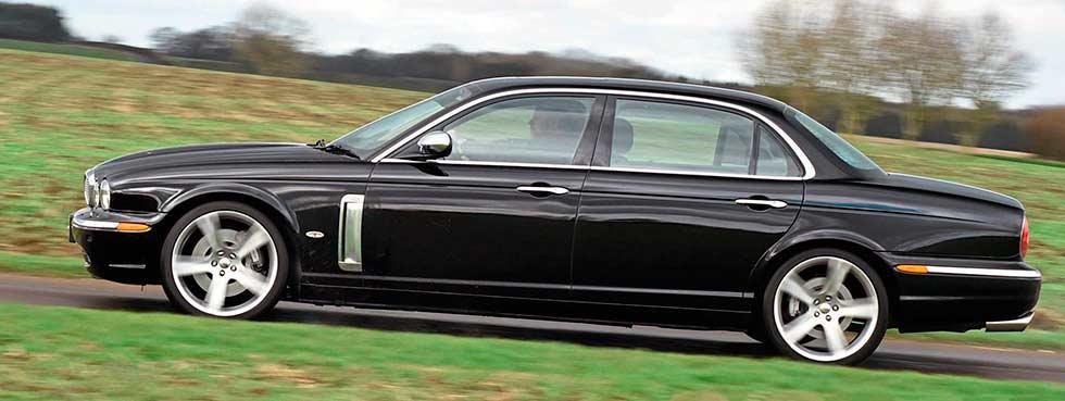 2005 Jaguar XJ8 Super V8 Portfolio X350 - road test