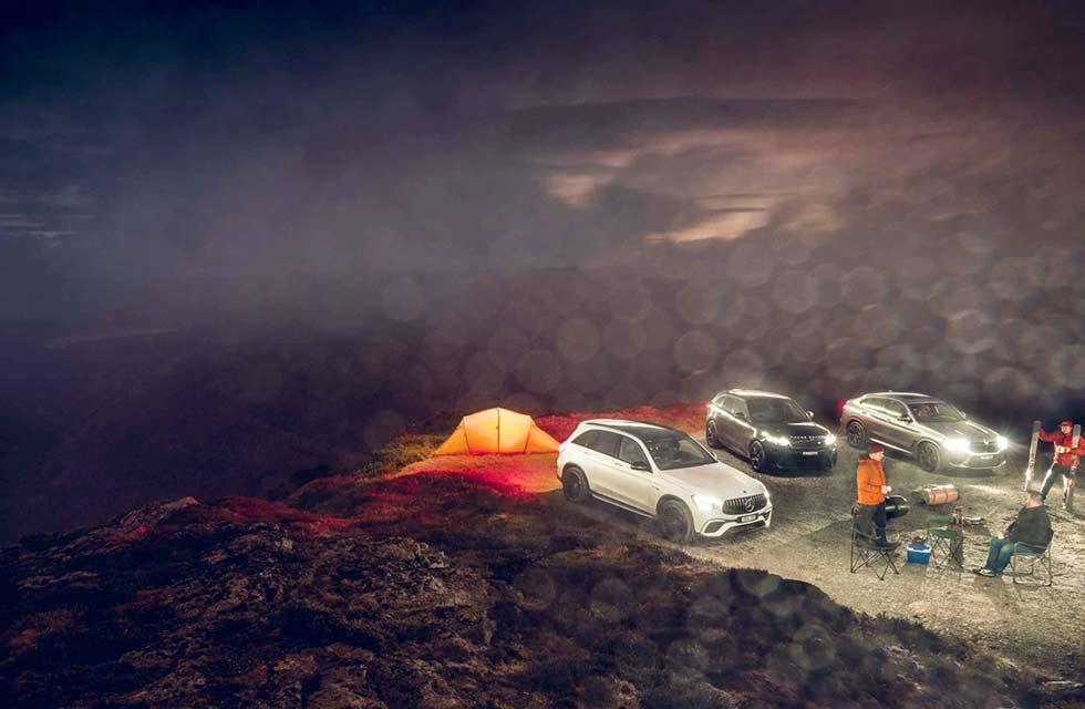 2020 BMW X4 M Competition F98 vs Range-Rover Velar SVA vs Mercedes-AMG GLC 63 S 4MATIC+ X253