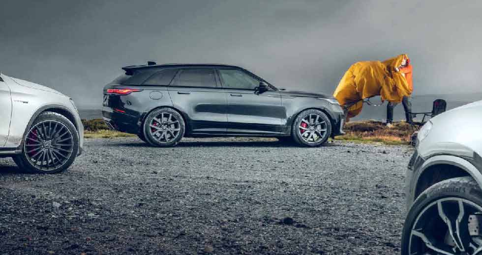 2020 BMW X4 M Competition F98 vs Range-Rover Velar SVA vs Mercedes-AMG GLC 63 S 4MATIC+ X253 - Which one's the quickest SUV