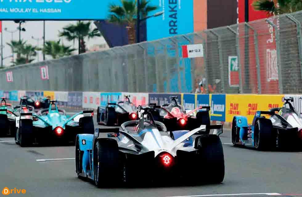 Formula E BMW Takes Podium in Morocco