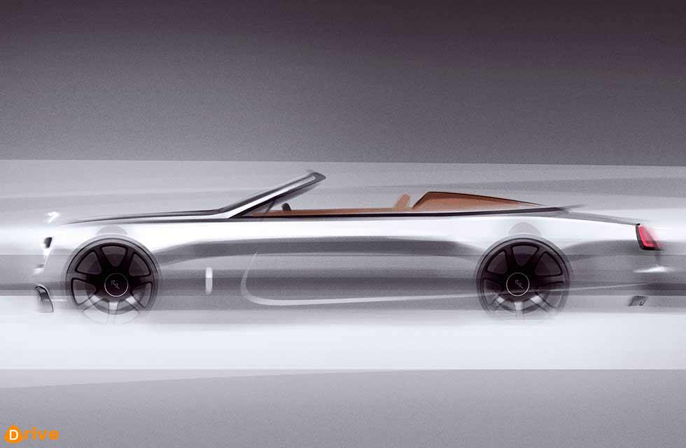 Rolls-Royce's next project is a Dawn-based roadster