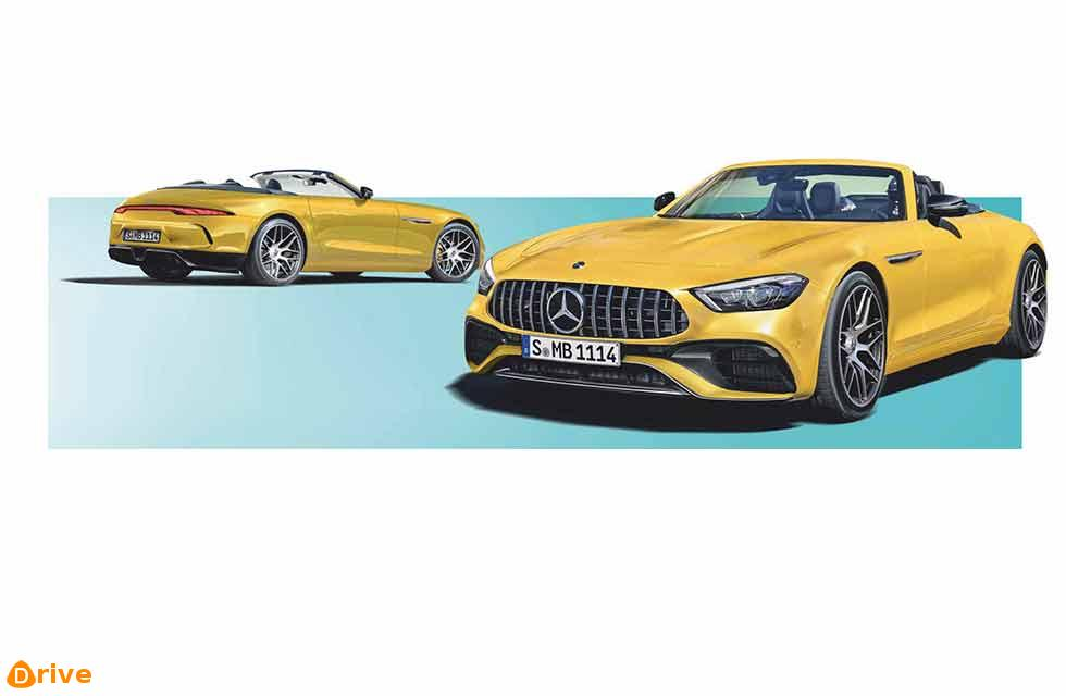 2022 Mercedes-Benz SL All-new version of bougie boulevardier gets a big shot in the arm from AMG