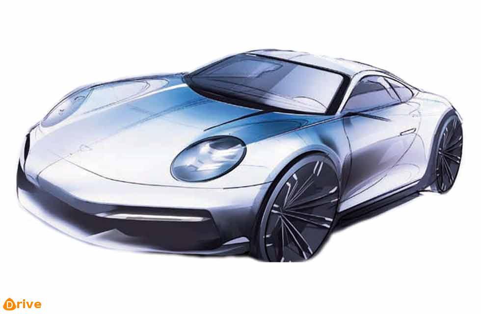 No electric 2030 Porsche 911 Electric