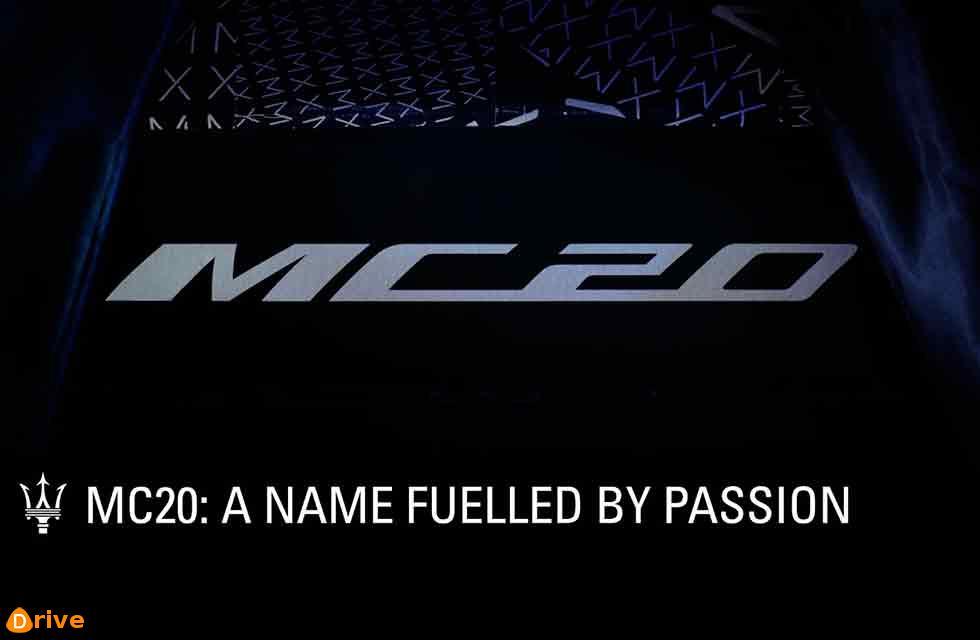 Maserati unveils 'MC20' name