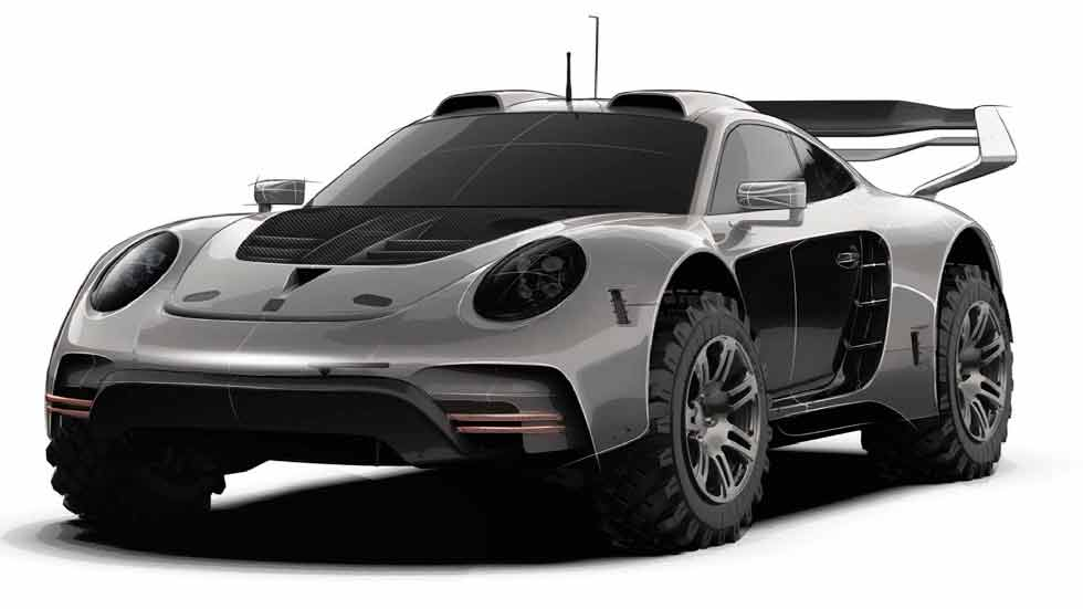 Gemballa reveals mutant off-road Porsche 911 Turbo 991.2