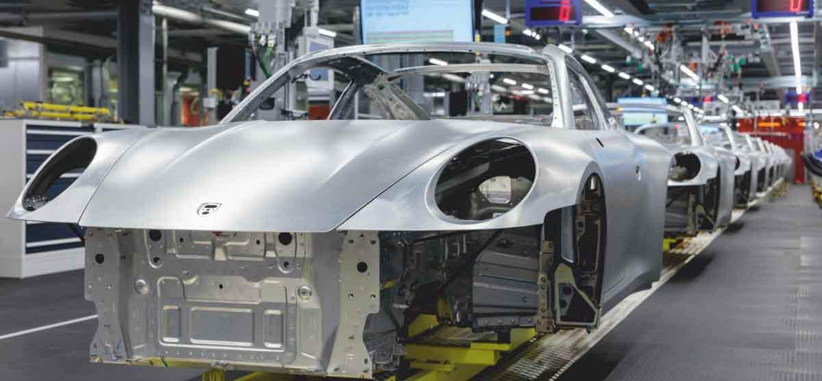 Porsche factory shuts down unprecedented move at Zuffenhausen in wake of COVID-19