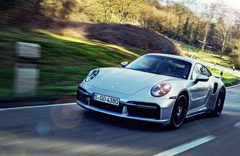 2021 Porsche 911 Turbo S 992 - road test