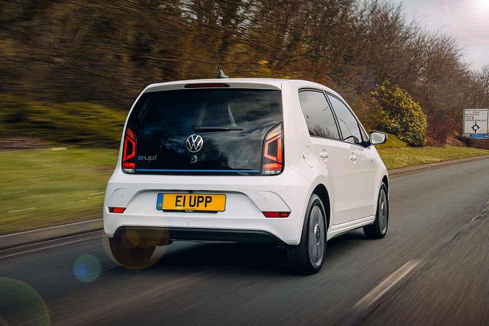 Volkswagen e-up! UK-spec '2020