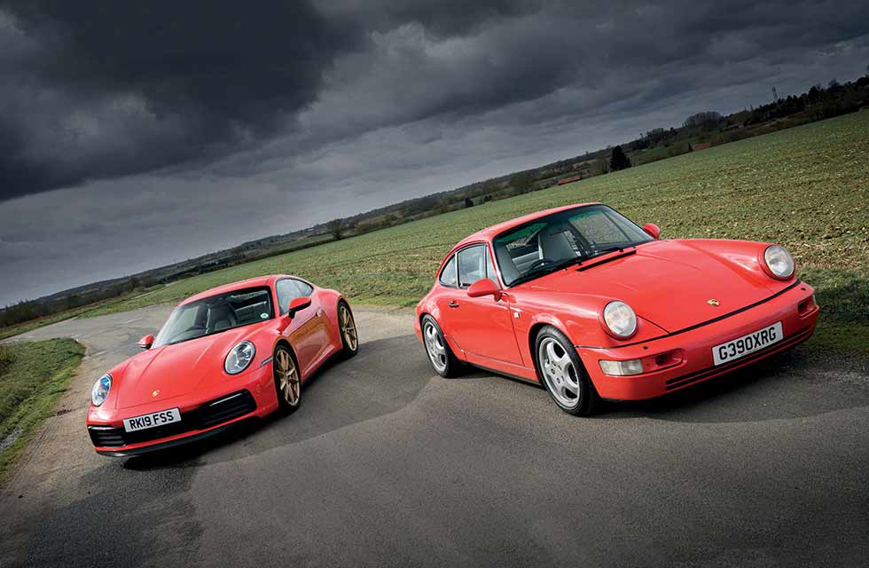 964 was the contemporary 911. 30-years on, we pitch it against the current 992 gen 911