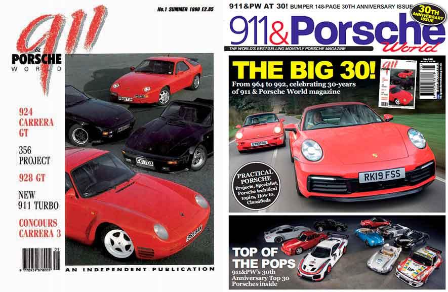 1990 Porsche 911 Carrera 3.6 964 vs. 2020 Porsche 911 Carrera S 992