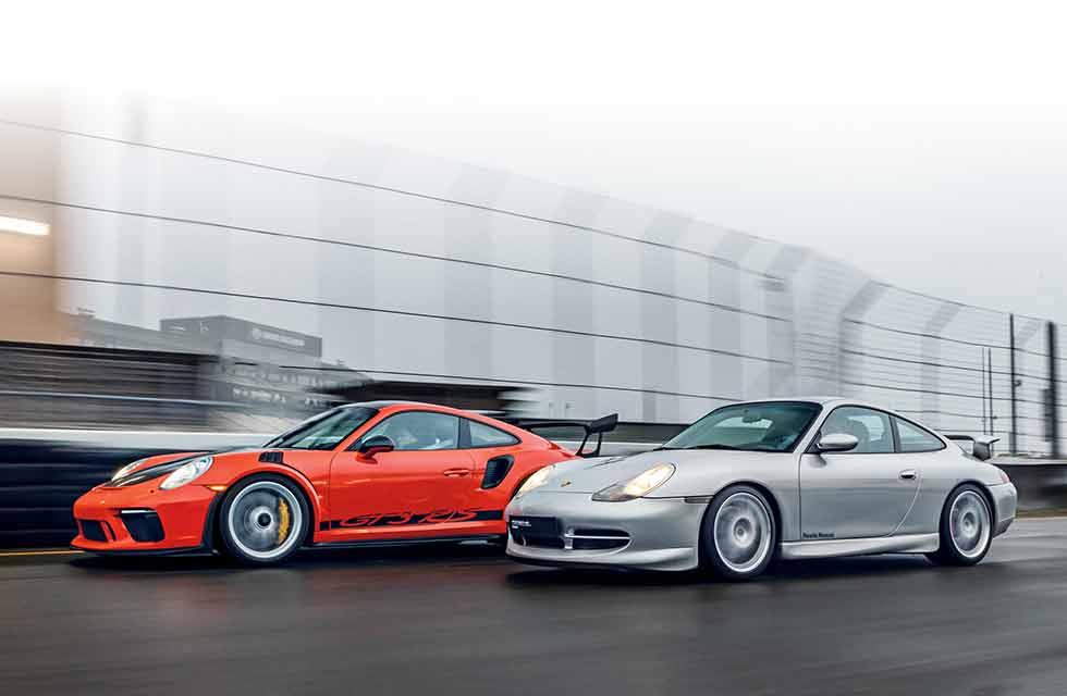 1999 Porsche 911 GT3 996.1 vs. 2018 Porsche 911 GT3 RS 991.2