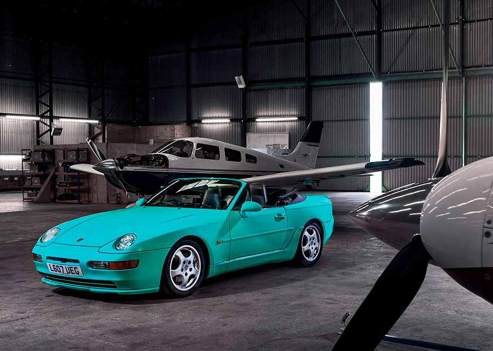 1994 Porsche 968 Cabriolet - finished in rare Mint Green