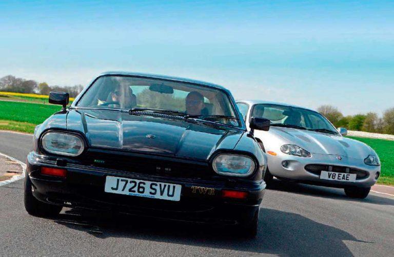 1992 Jaguar XJR-S 6.0 vs. 1999 Jaguar XKR 4.0 X100 - Drive