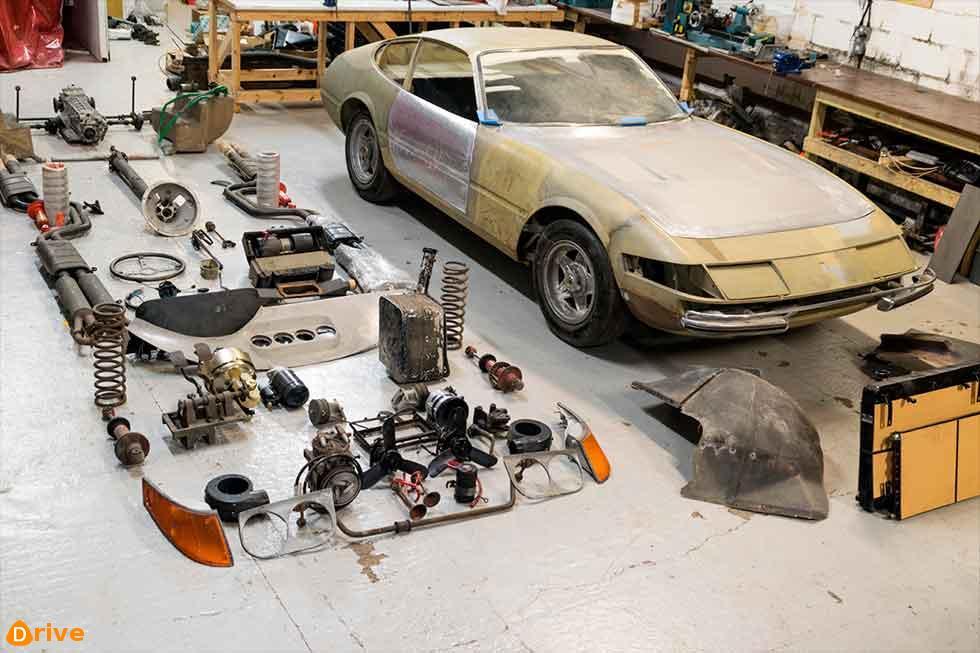 Reborn 1971 Ferrari 365 GTB/4 Daytona 'wreck' up for grabs