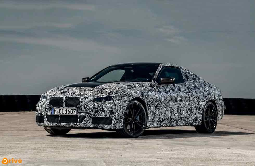 BMW releases spyshots of new 2022 4 Series Coupé