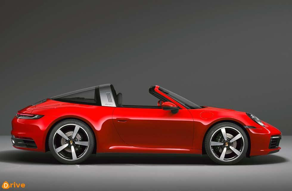 2021 Porsche 911 Targa 4 992 4WD with 380bhp or 444bhp