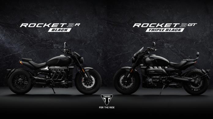2021 Triumph Rocket 3 R Black & Rocket 3 GT Triple Black