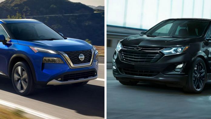 2021 Nissan Rogue VS. Chevrolet Equinox