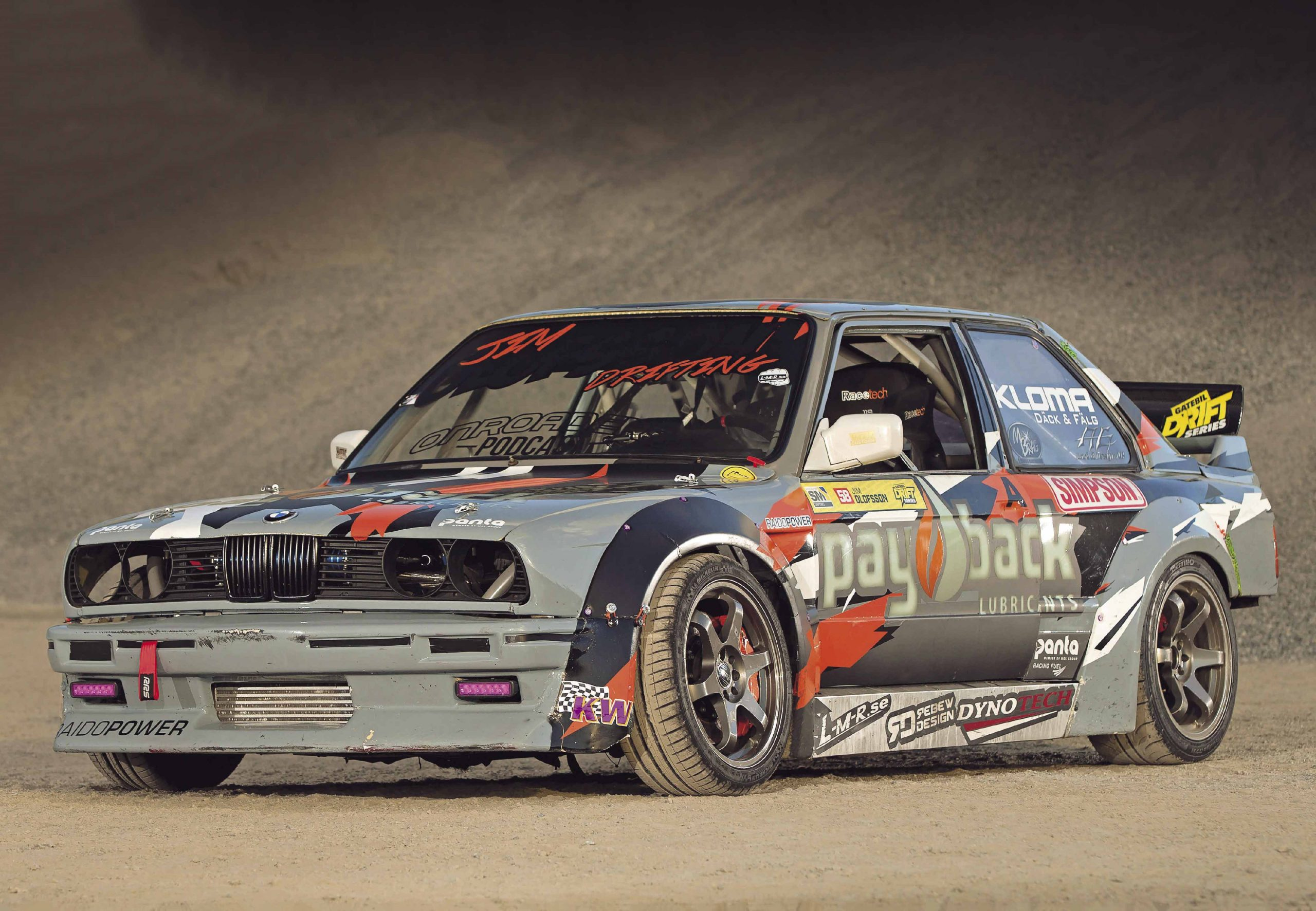 940whp M50b25 Turbo Drift Bmw E30 Coupe Drive